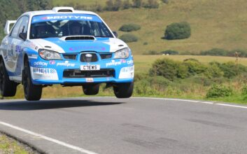 Particle Technology proud sponsor of Clews Rallying
